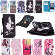 Customized! Touch 5/Touch 6 Case New Flip for iPod Touch 5/Touch 6 Silicone Magnetic Stand Wallet Phone Cases w/ Card Holder(China)