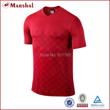 Dry-fit,high quality Sublimation t-shirt OEM Soccer Jersey tops,Fitness Gym, Short-sleeve wholesale(China)