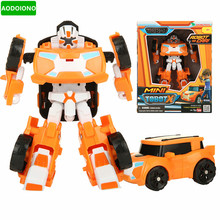 6 Styles Young Toys Korea Cartoon Deformation Robot Tobot Brothers Anime Tobot Quartran Toys Kids Toys Deformation Car Juguetes