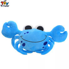 Cute Plush Crab Toy Stuffed Doll Doll Toys Ocean Animal Cushion Pillow Baby Girl Boy kids Birthday Gift Home Shop Decor Triver