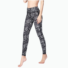 Buy Elastic Printed Yoga Leggings Women Sport Fitness Gym Legging Running Tights Dry Fit Slim Workout Pants Yoga Jogging Femme for $17.84 in AliExpress store