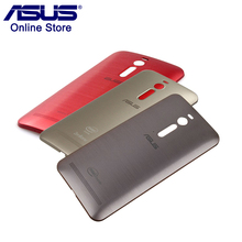 Original ASUS Phone Case Zenfone 2 ZE551ML ZE550ML Back Cover Case Rear Battery Cover Replacement with Power Button Z00AD NFC(China)