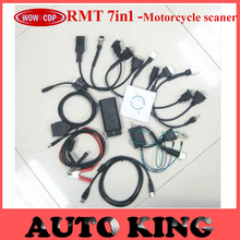Top quality and best price rmt 7IN1 motorcycle scan tool  scanner with free shipping