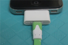 2pcs 8Pin Female to 30Pin Male Adapter 30pin to 8 pin for iPhone 4S iPad 3 iPod Touch 4 6 plus - White(China)