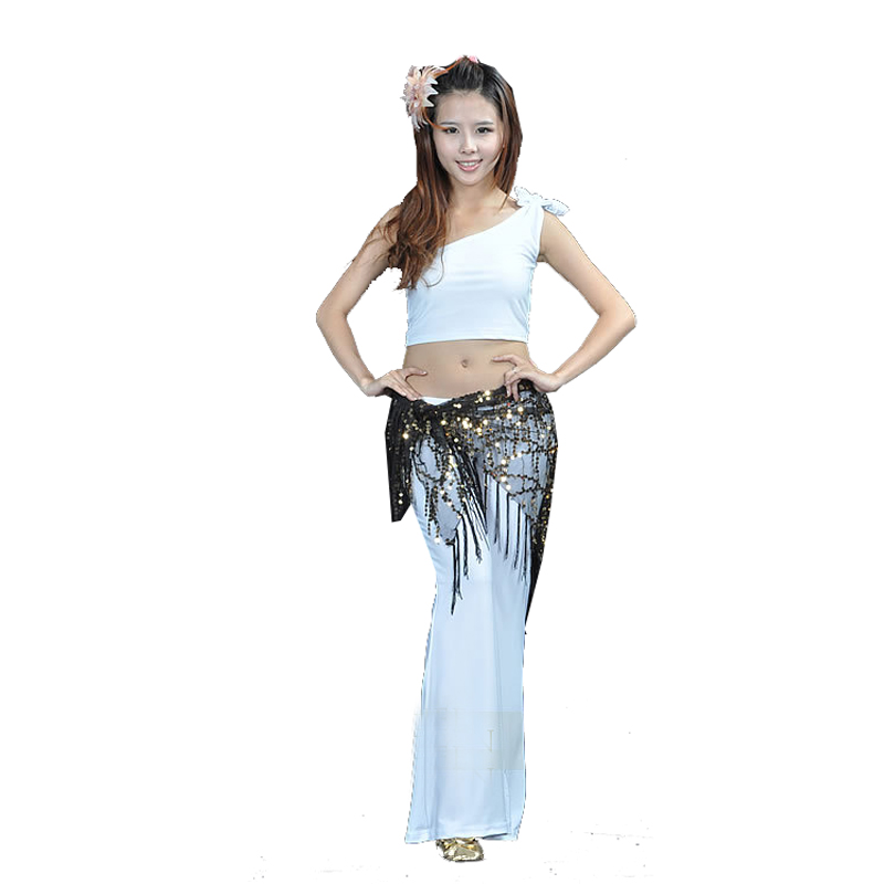 2017new Shoulder Garment Exercise Pants Belly Dance Outfit Costumes Training