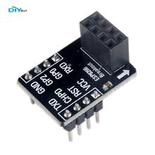 DIYmall ESP8266 ESP-01 Breakout Board Breadboard Adapter PCB for Serial Wifi Transceiver Network For Arduino Uno By diy FZ2178