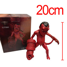 "Anime Movie The Golden Army Hellboy 8""/20CM PVC Action Figure Figurine Toy Gift Rare HELLBABY ANIMATED Model toy Brinquedos"