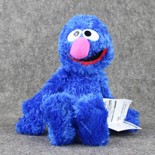 37cm Sesame street Dark Blue ELMO Plush Toys Soft Stuffed Doll Boys and Girls Collection Toys Birthday Gifts(China)