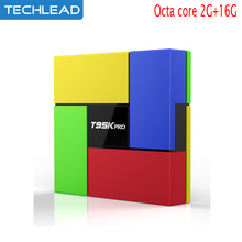 New T95K PRO Android 6.0 Smart TV box Octa Core Amlogic S912 Dual Band WIFI Bluetooth 4.0 UHD 4K VP9 HDR 3D Media Player kodi