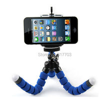 Digital Camera Mini Flexible Leg Octopus Tripod Stand Holder + Phone Holder for Sony Canon Nikon DSLR High Quanlity