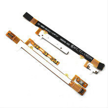 Original Power On/Off Button & Volume Up/down Buttons Flex Cable Parts For Sony Xperia C2304 C2305 S39c S39h Cell Phone in Stock