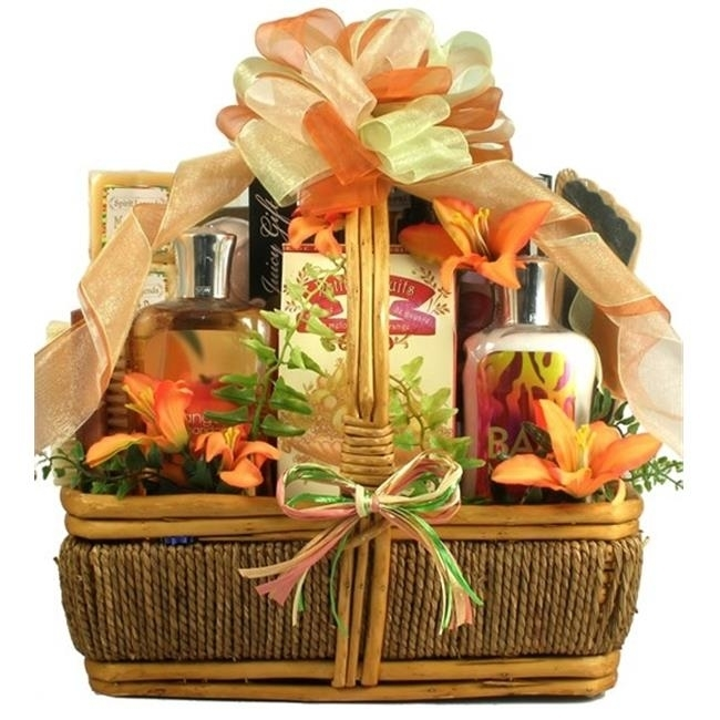 Gift Basket Drop Shipping ThIs The Islander Tropical Spa and Gourmet Gift Basket (1)