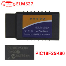ELM327 WIFI V1.5 with PIC18F25K80 OBD2 Diagnostic Tool ELM 327 WI-FI Diagnostic-tool OBD2 Scanner For Android Torque/iOS/PC