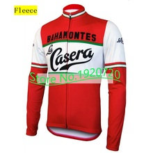 Arbitrary choice 2016 new red Winter Fleece long sleeve man cycling jersey & no Fleece cycling clothing MTB / road bike wear