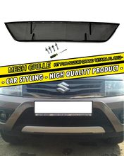 Car Mesh Grille for Suzuki Grand Vitara 2012-2015 black color car styling molding decoration protection mesh grille accessories