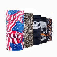 New Seamless Bandanas Magic Headband Bicycle Sunscreen Mask Riding Variety Turban Men Women Veil Multi Scarves