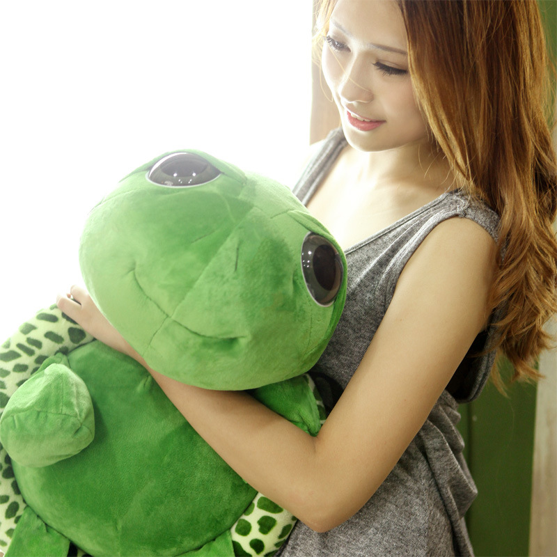 18cm Army Green Big Eyes Turtle Plush Toy Turtle Doll Turtle Kids As Birthday Christmas Gift New YH-17(China (Mainland))