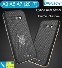 Original iPaky Hybrid Cover Case For Samsung Galaxy A3 A5 A7 2017 Slim Armor Protector Shell Frame + Silicone A520F A720F A320F(China)