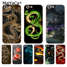 Buy MaiYaCa chinese Dragon design soft tpu phone case cover Apple iPhone 8 7 6 6S Plus X 5 5S SE 5C 4 4S case for $1.35 in AliExpress store