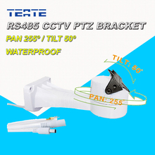 CCTV Bracket PTZ Electrical Rotating RS485 Connection Waterproof Outdoor Pan Tilt Rotation Motor Built-in