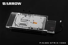 Barrow RGB Full Cover Graphics Card Water Cooling Block BS-STRIX1080 for ASUS ROG STRIX GTX1080 GTX1070 GTX1060