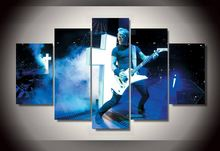 HD Printed Canvas Painting Group Metallica Home Decor Wall Pictures For Living Room Good Quality Modular Pictures Modern Cuadros