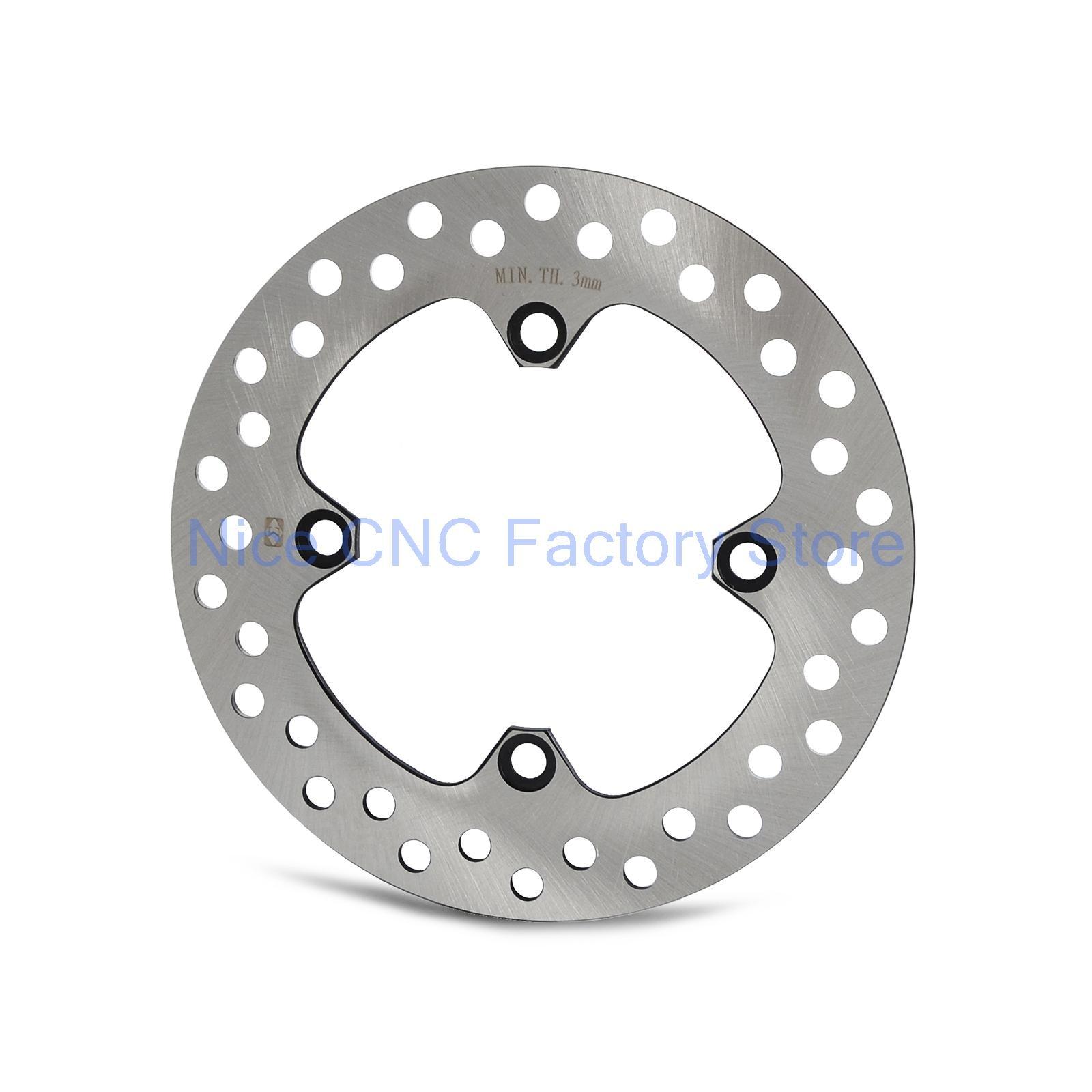 Motorcycle Rear Rotor Brake Disc For Honda CBR125R XR250 XR400 XR600 TRX400 E/EX Kawasaki KFX400 Suzuki LT-Z 400 NEW<br>