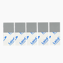 5pcs LAIRD 15*15*0.12mm Silicone Thermal Pad heatsink Cooling pads for CPU GPU VGA Chip Northbridge CPU cooling pad
