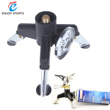 Three-Leg Outdoor Stove Adaptor Transfer Head Adaptor Nozzle Gas Bottle Screwgate Light Weight Stove Gear for Camping Hiking(China)