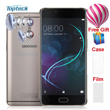 "DOOGEE SHOOT 1 4G 5.5"" FHD 1920*1080 Fingerprint Smartphone Android 6.0 MTK6737T 1.45GHz 2GB+16GB 8MP 13MP 3300mAh Mobile Phone"
