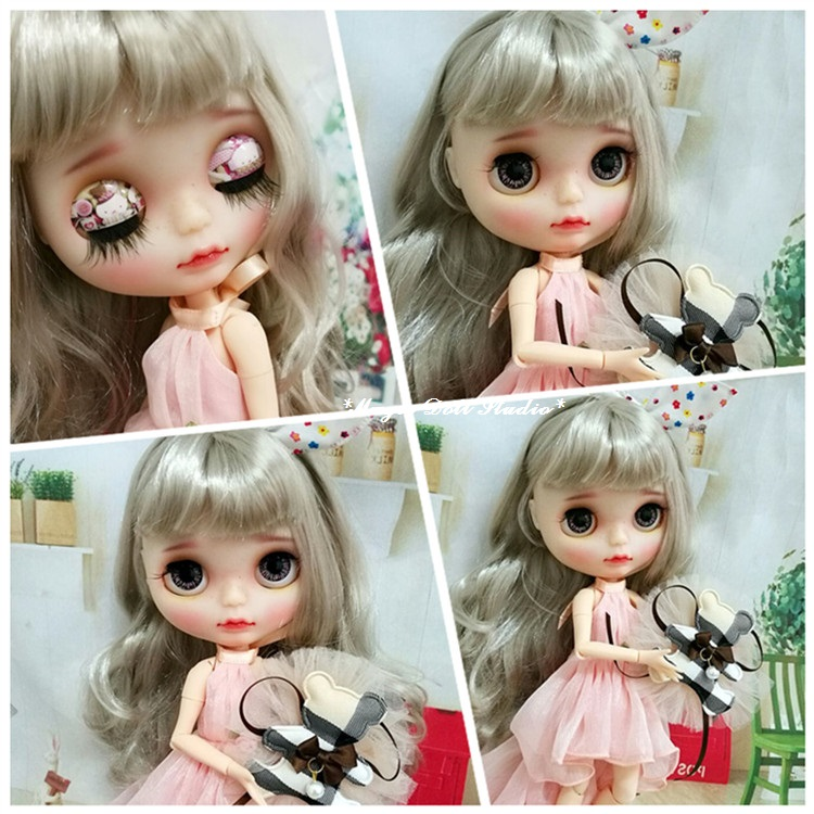 [NBL158]2017 New Free Shipping Blyth Doll # 4 Style Limited Special Offer Blyth Doll for Retail NeoBlythe Azone Doll(China)