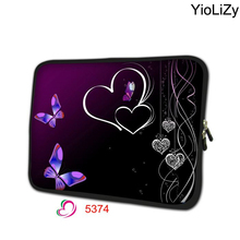 heart print tablet cover mini laptop Protective skin 7.9 notebook sleeve bag 7 tablet protective case for mipad 2 TB-3214(China)