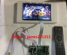 High Quality TV PC HDMI CVBS RF USB Audio LCD Controller Board With 7inch HSD070PWW1-C00 1280*800 IPS Lcd Panel 100% Test