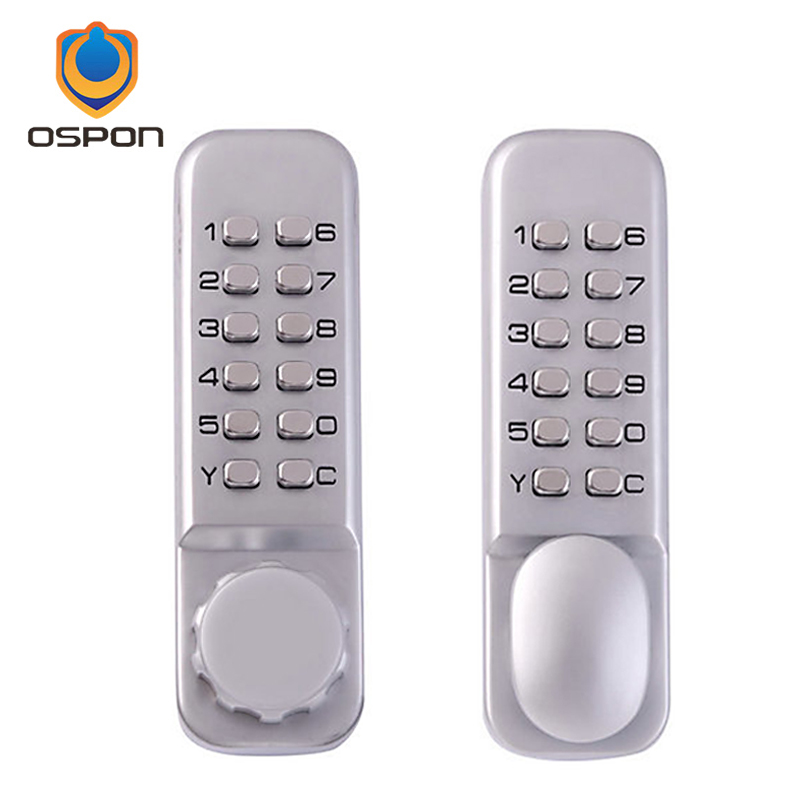 The new second generation of waterproof zinc alloy material mechanical password lock door locks, two styles<br>