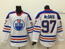 2017 new Ice Hockey Jersey mcdavid # 97 Hockey Jersey  Ice Team white blue colour S-XXXL Stitched  have all teams jersey