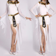 2017 Halloween Clothes Women Sexy Arab Queen Of Egypt Cleopatra Cosplay Costume Ladies Sexy Fancy Dress Clothes