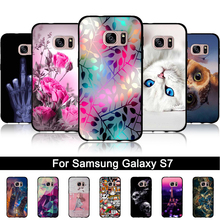 Buy Samsung Galaxy S7 Case Soft TPU Cover Samsung galaxy S7 G930 Relief Coque Capa Fundas Samsung S7 S 7 s7 G9300 Bags for $1.51 in AliExpress store