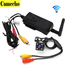 2.4G Wifi Car Reveser Backup Camera Transmitter Video Transmission FPV Aerial Photography Vehicle Back up Camera For Android IOS