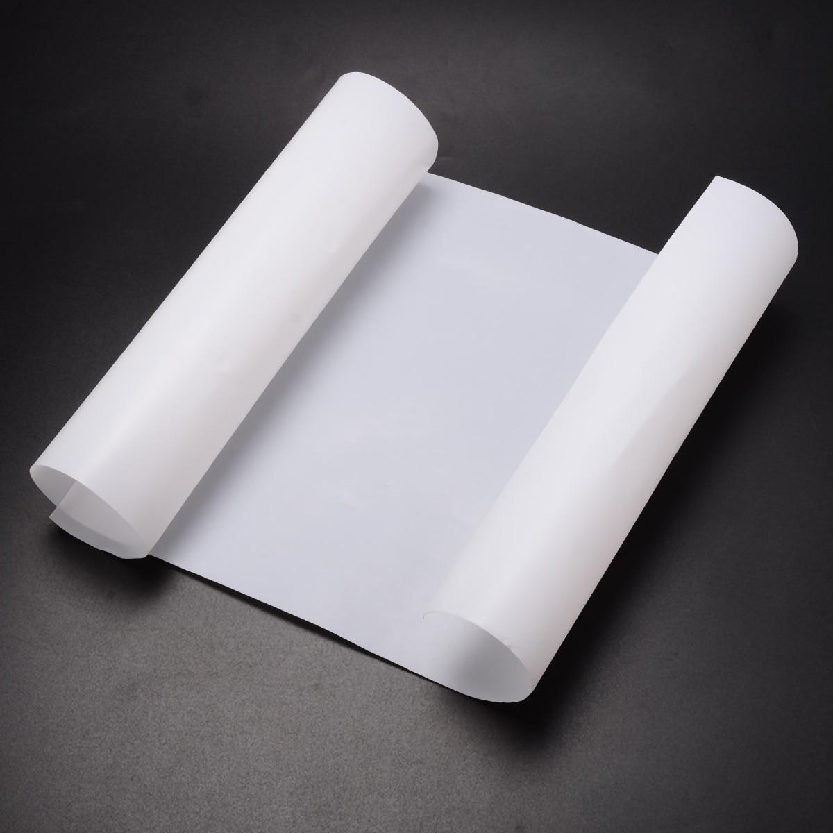 White  PTFE Film//Sheet Virgin High Strength Temperature 500*250*0.3mm