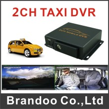 640*480 2CH Car DVR  Profession Taxi DVR For Bus Truck Vehicle