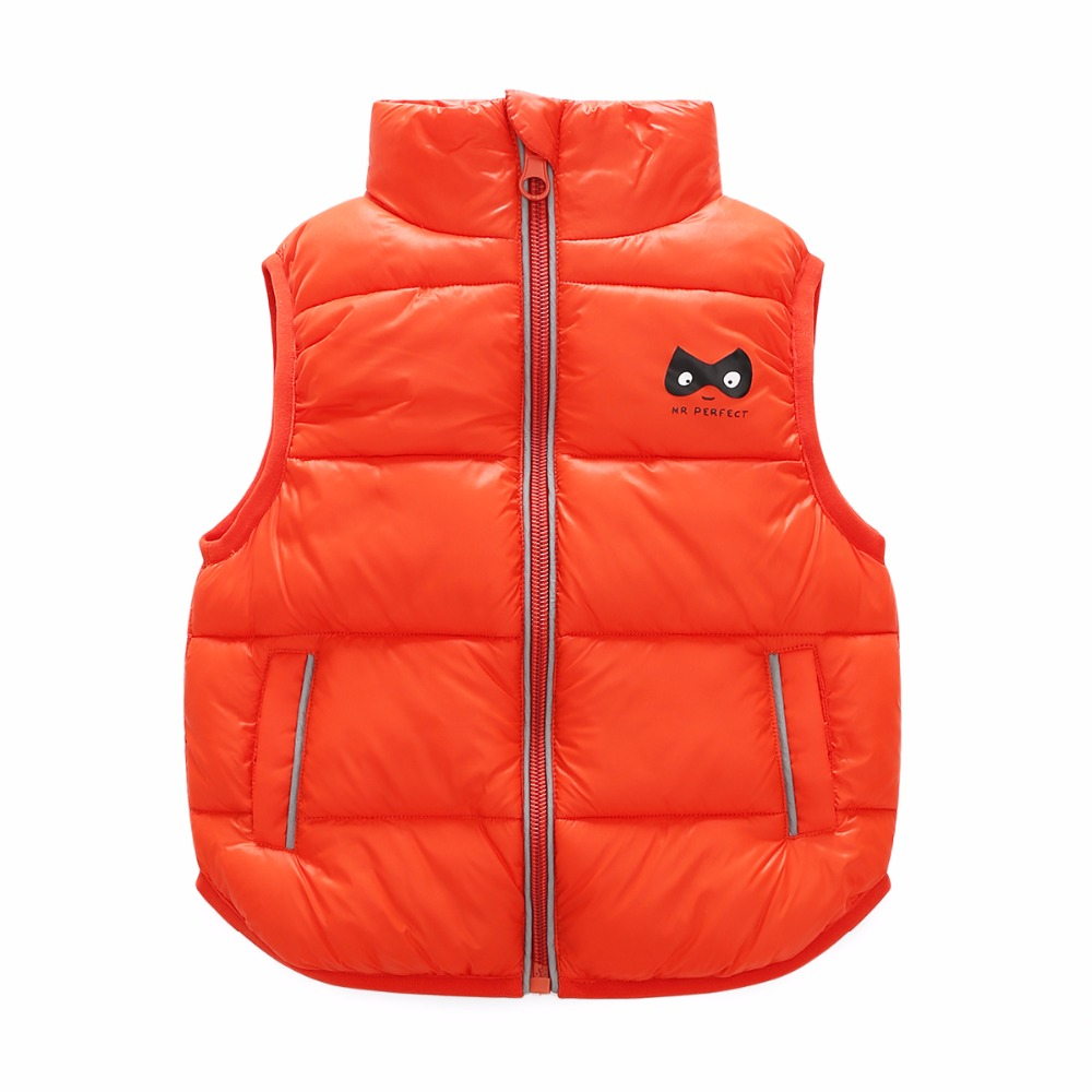 3 Bibihou 2017 Winter Kids Waistcoats children clothes Vest Warm Coat Infant sleeveless Jacket Cotton Kid Clothe Boy Girl Outwear