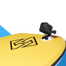 Surfing Fixed Bodyboard Stand Up Paddle Foam Surfboard Mount Bracket For GoPro Xiaomi Yi 4K SJ4000 SJ5000 SJcam Accessories(China)