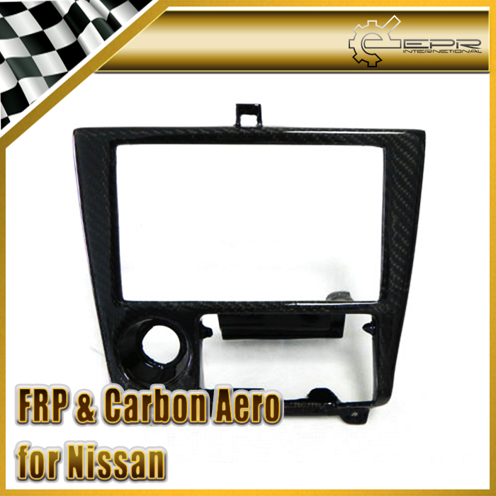 Car-styling For Nissan S14 Carbon Fiber Radio Surround RHD In Stock<br><br>Aliexpress
