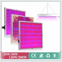 Full Spectrum 20W 30W 120W 1365pcs SMD2835 Grow Light 660nm+460nm Grow Leds For Hydroponic Lightings and Hydroponics System(China)