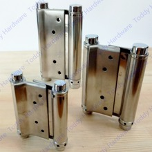 2 stks 3/4/5/6/8 inches rvs deur scharnier gate scharnier deur fittings twee zijden open scharnier veerscharnier(China)