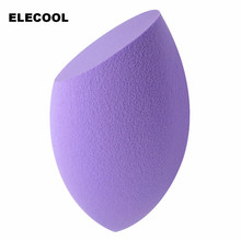 ELECOOL 5 Color Soft Makeup Sponge Blender Foundation Puff Flawless Powder Smooth Beauty BB Cream Makeup Tool(China)