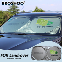 BROSHOO Car Windscreen Sunshade Front Window Sun Shade Windshield Visor Cover For Land Rover Range Rover/Evoque/Disco very 3(China)