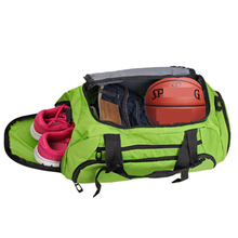 Hot sale ! Men And Women Outdoor Fitness Bag Portable Sports Gym Backpack Shoulder Bag Separated Shoes Storage Travel Backpack(China)