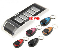 Free Shipping Wireless Electronic Key Finder Reminder With 5 Keychain Receivers For Lost Keys Locator Whistle Key Finder