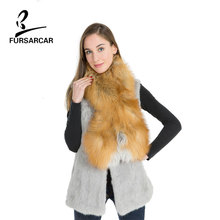 Women's Scarf Fox Fur Real Pure Natural Fox Fur Red Fox Silver Fox Fashion Ring Winter Warm Resist The Cold Wind Long Scarf(China)